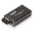 MultiPower Miniature Media Converter, 1000-Mbps Copper to 1000-Mbps Fiber, 1310-nm, Single-Mode, 10 km, SC