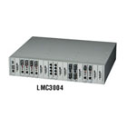 Dynamic Fiber Conversion System, 19-Slot Power Chassis (Managed, Rackmount) with (1) AC Power Supply
