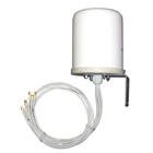 TerraWave Solutions 802.11n Outdoor MIMO Omnidirectional Antenna with RP-SMA Plug Connectors