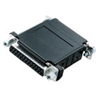 Asynchronous Modem Eliminator (AME), DB25, Female/Female with Cable