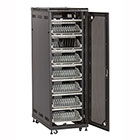 Mass Charging Cabinet - 84-Device, Cable Management