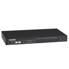 Horizontal Rackmount Remote Power Manager, 100–120 VAC, Dual Circuit, 15-Amp, (8) NEMA 5-15 Outlets