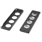 Rail Extension Bracket, 2U, 3