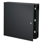 Wallmount Cabinet - 2U, Black