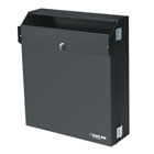 Low-Profile Secure Wallmount Cabinet - 4U
