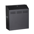 Low-Profile Secure Wallmount Cabinet - 6U