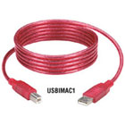 iMac USB Cable, Type A–Type B Plugs, Strawberry, 3-ft. (0.9-m)