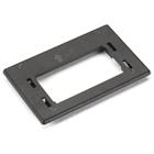 GigaBase2 Modular Furniture Reducer Plate for Herman Miller, Black
