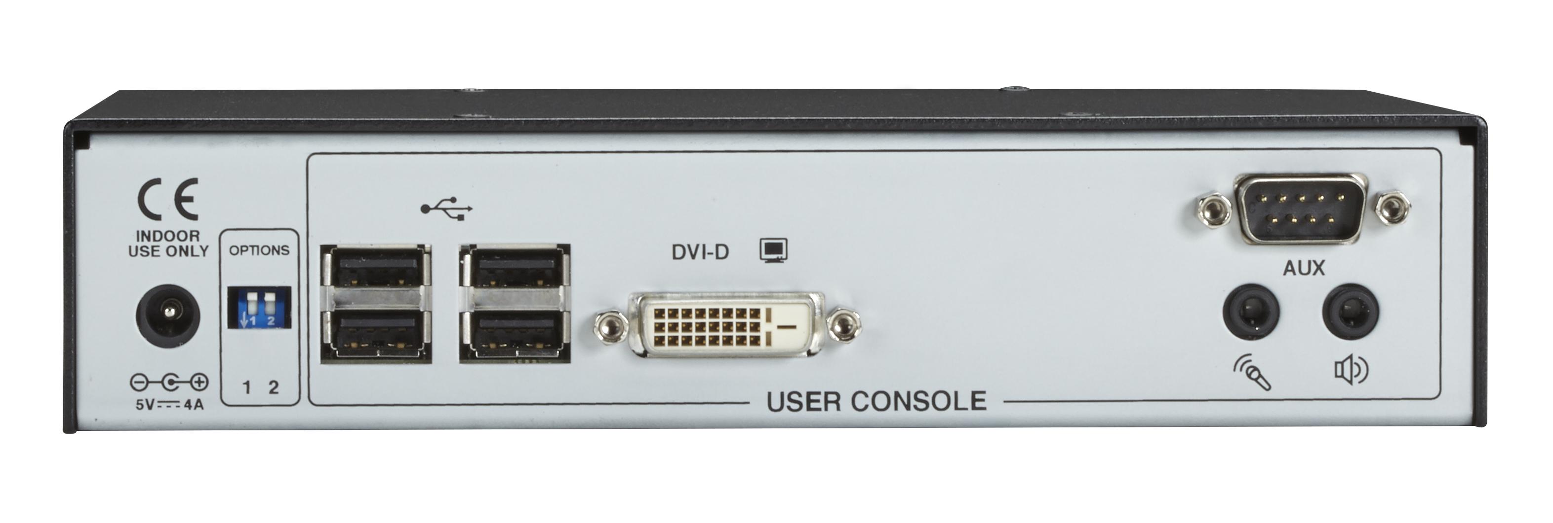 Agility KVM Over IP Matrix Receiver, DVI-D, USB 2 0 | Black Box