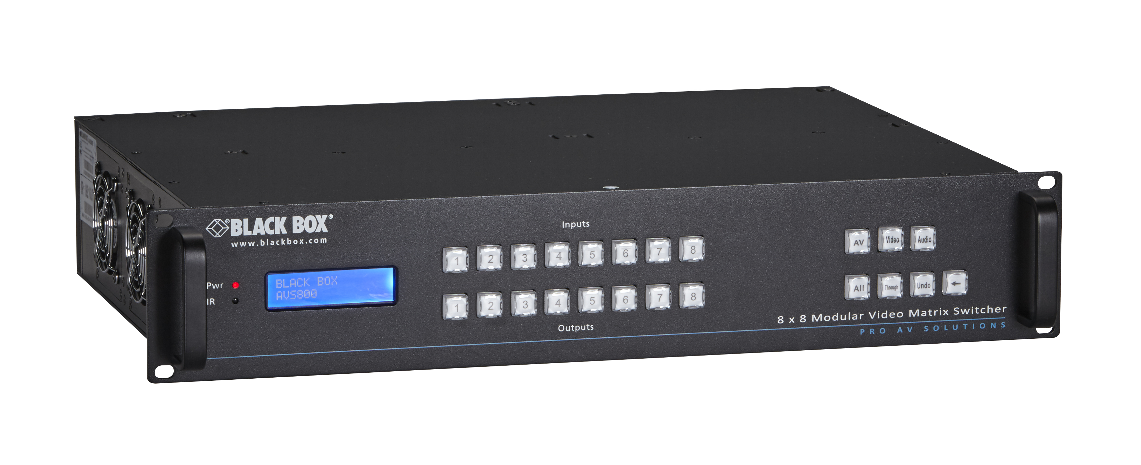 Modular video matrix switcher 8 x 8 i black box network services additional product image publicscrutiny Image collections