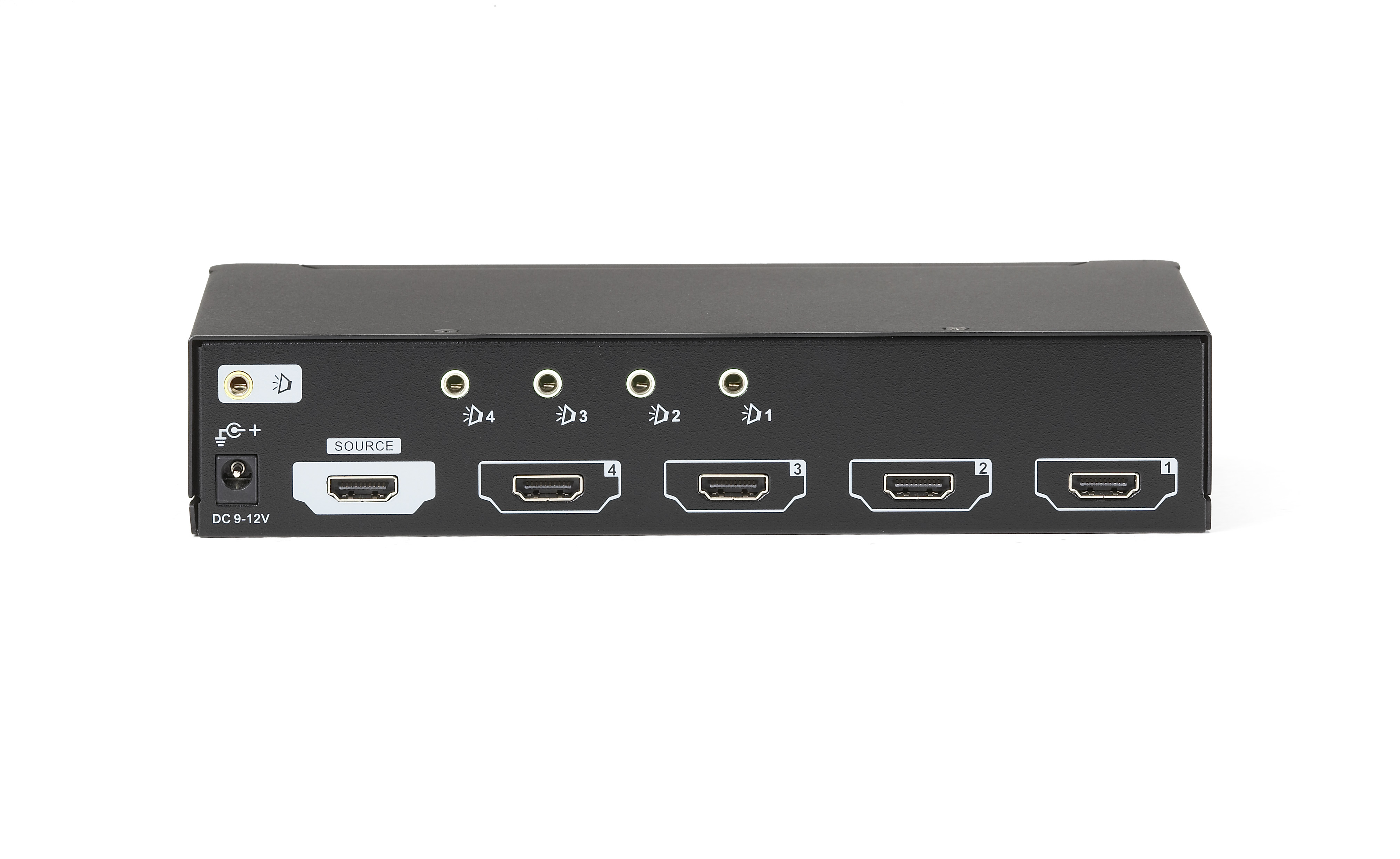 additional product image  sc 1 st  Black Box Network Services & 1 x 4 HDMI Splitter with Audio | Black Box Aboutintivar.Com