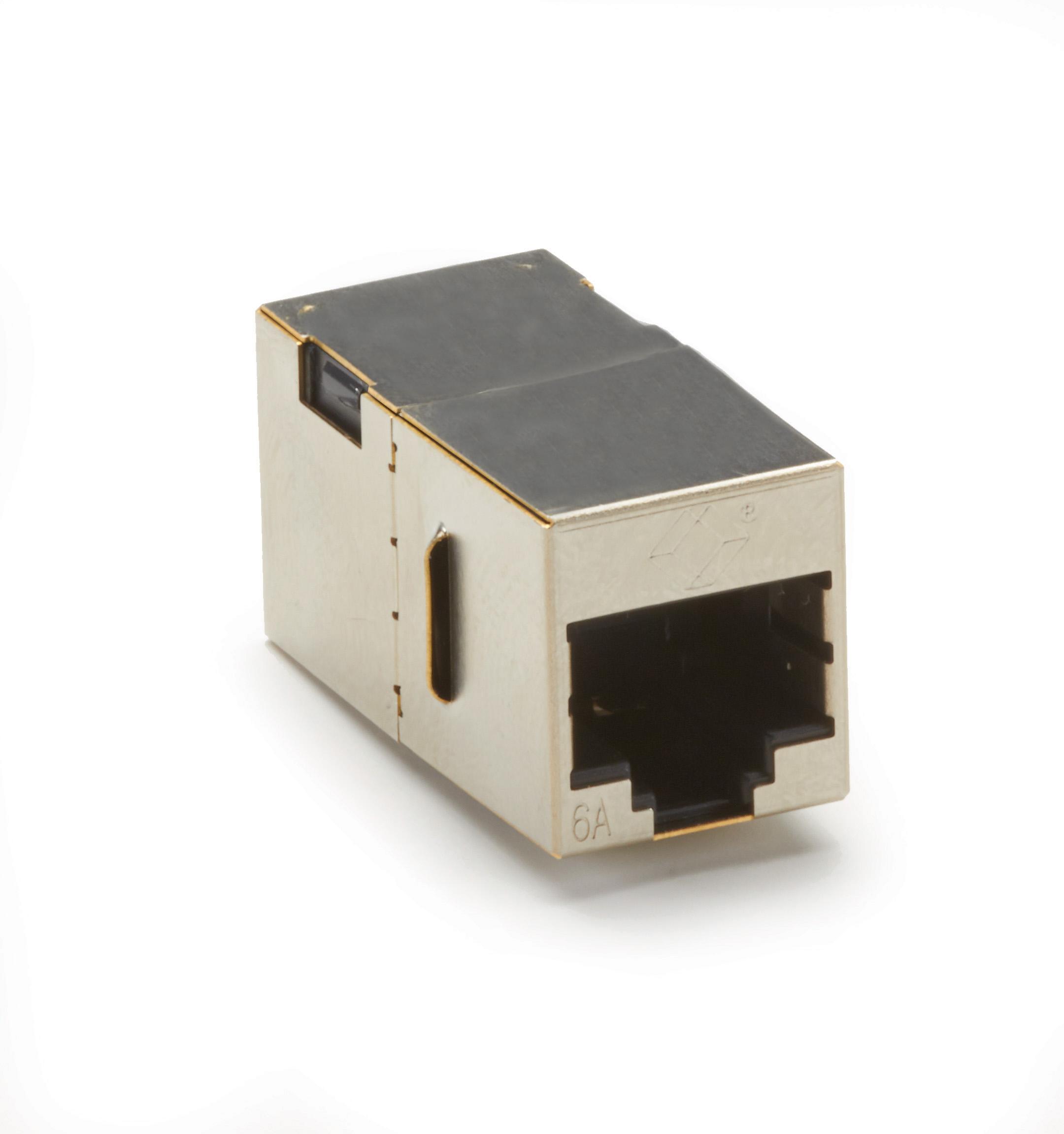 Black Box 25FT BK CAT6A 500-MHz Stranded Cable UTP PVC Slimline Snagless