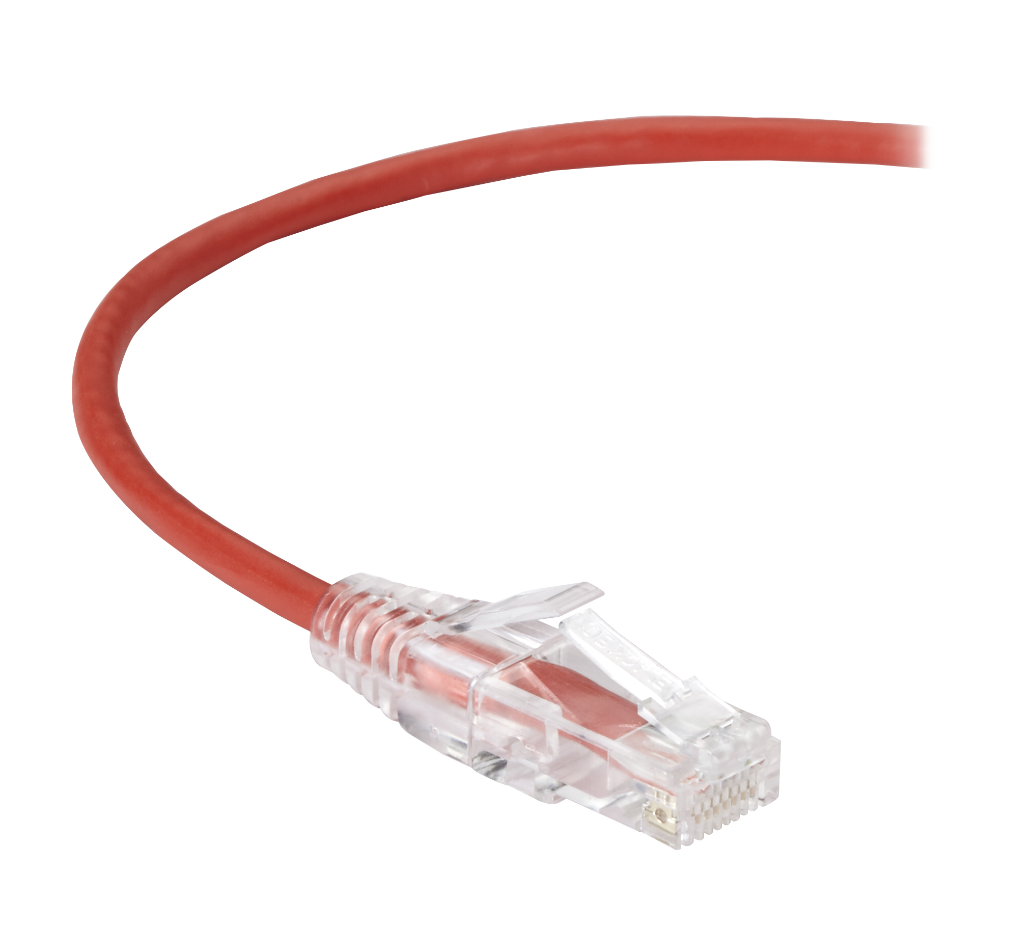 Black Box Cat6 Value Line Patch Cable 4-Ft. Red 1.2-M Stranded 25-Pack