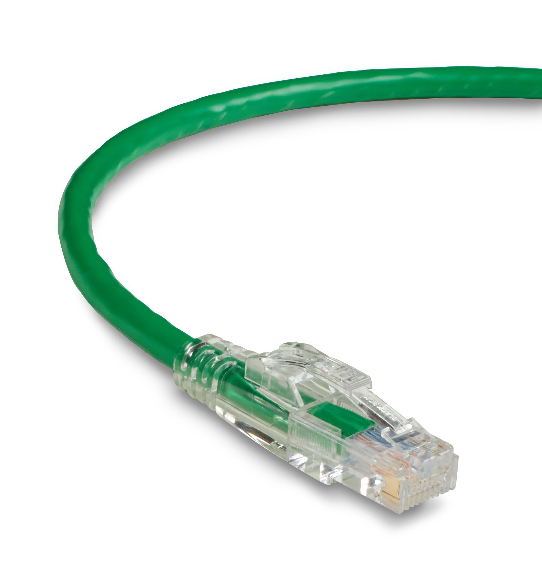 Black Box 50FT Blue CAT6 550MHz Patch Cable UTP cm Snagless