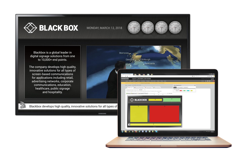 CMS Software for Virtual Machine 25 Player | Black Box