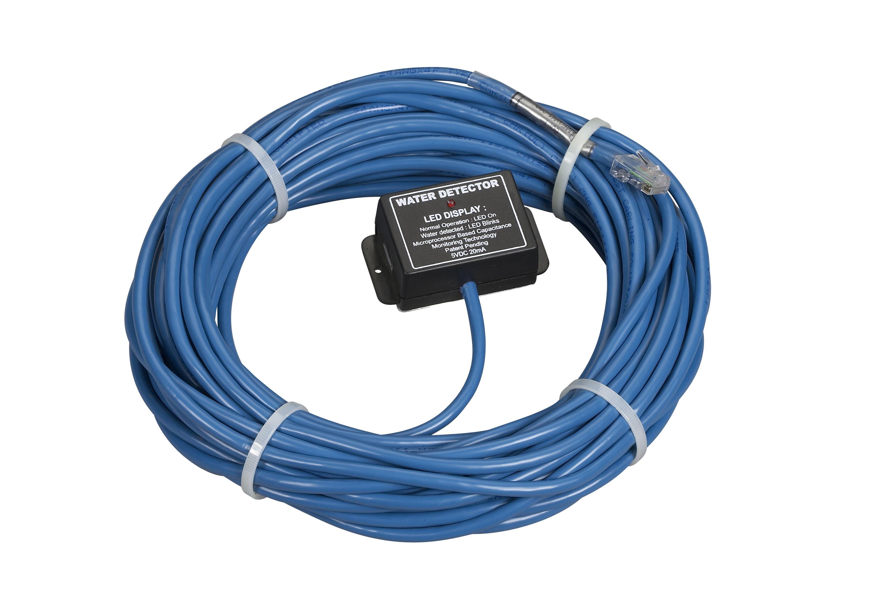 AlertWerks Monitoring System Water Sensor w/ 60-ft. Cable | Black Box
