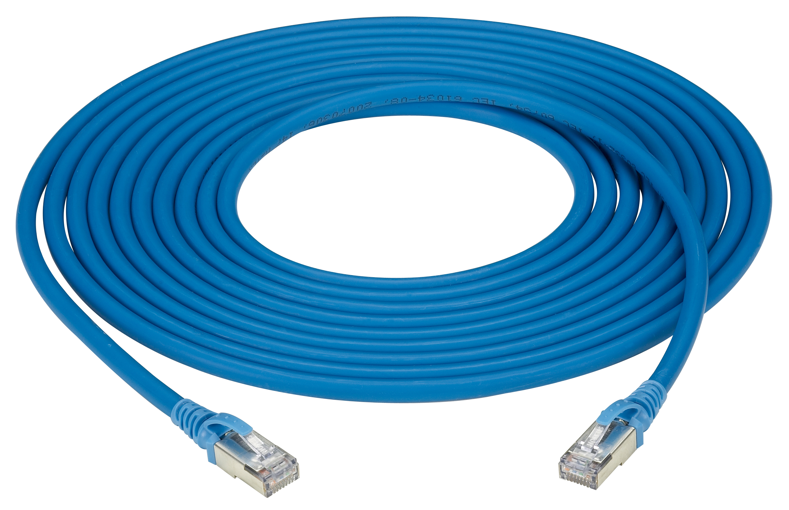 5m Bl Cat6a Stranded Ethernet Patch Cable F Utp Cm Ls0h Snagless Wiring Diagram Additional Product Image