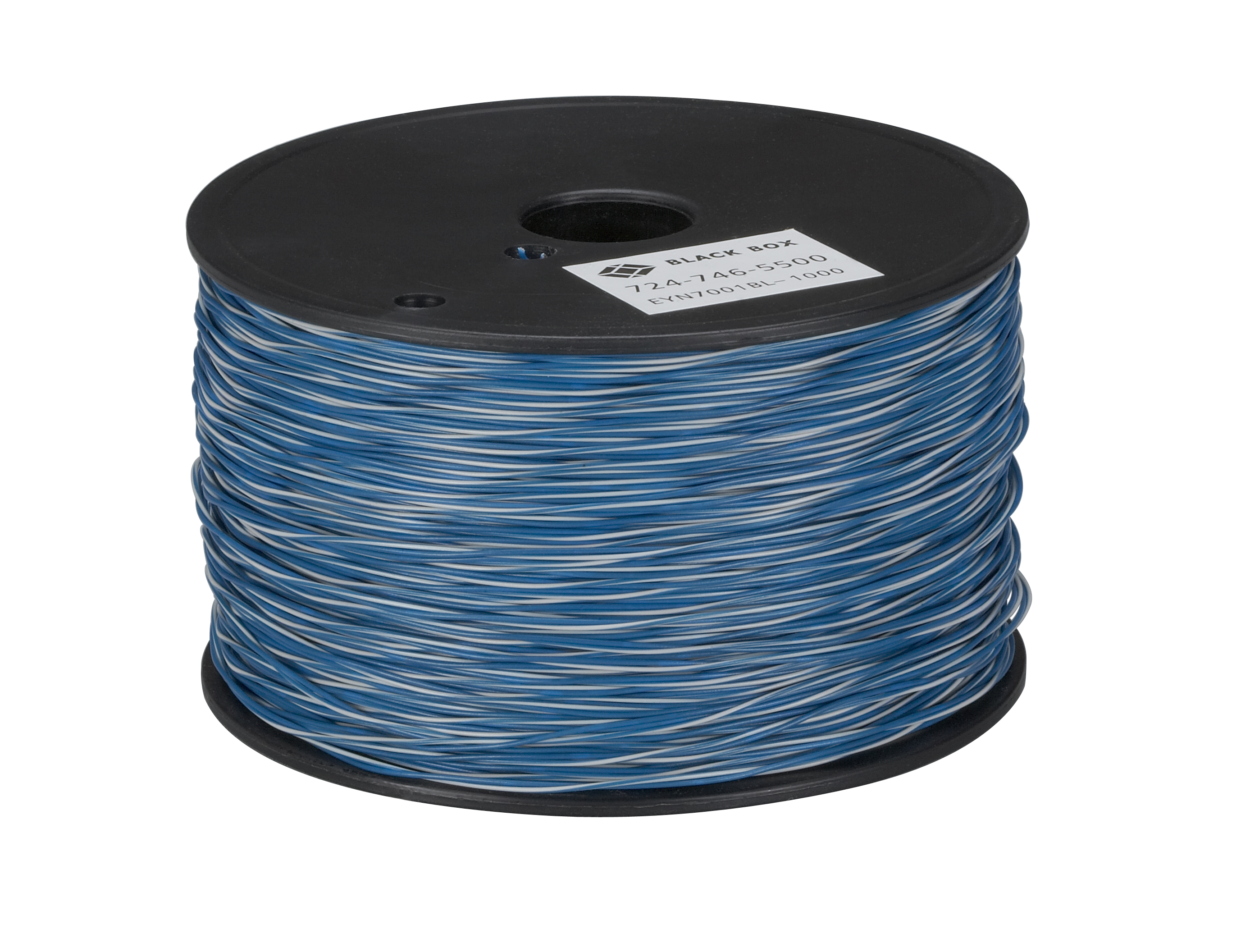 Cross-Connect Wire, 1-Pair, White/Blue with Blue, 1000-ft. Spool ...