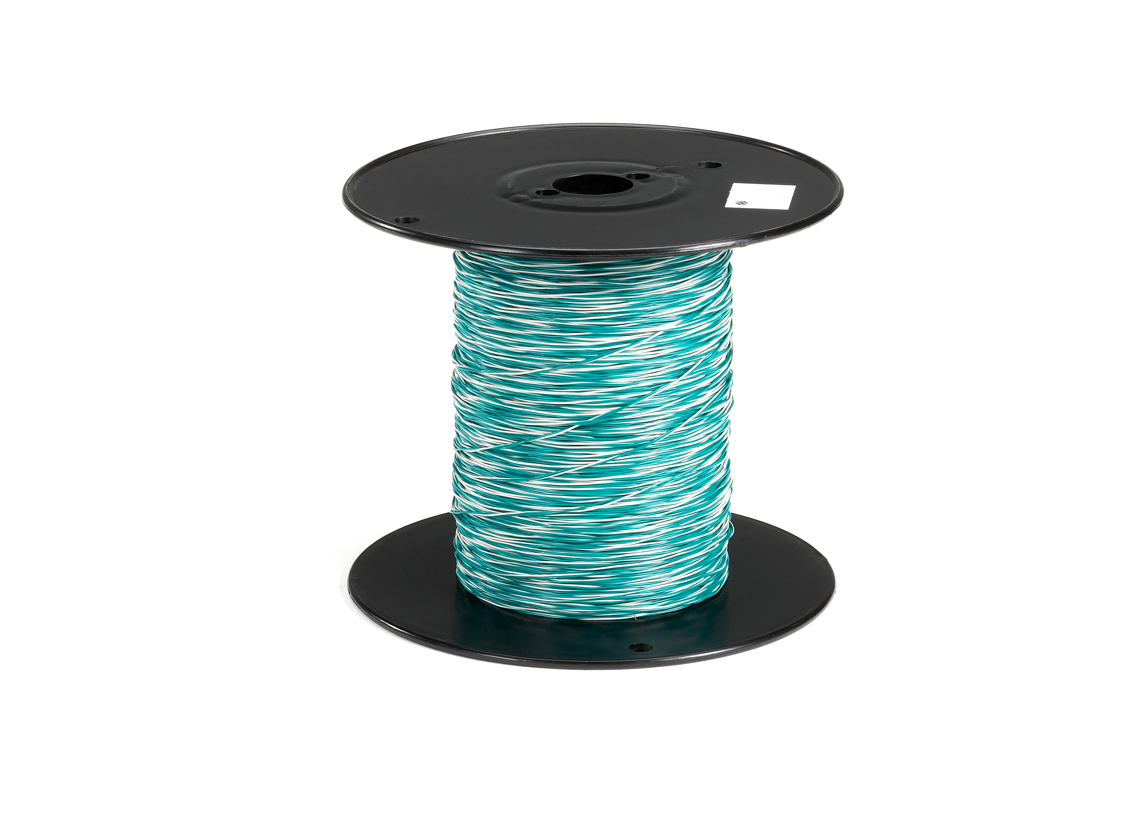 Cross-Connect Wire, 1-Pair, White/Green with Green, 1000-ft. (304.8 ...