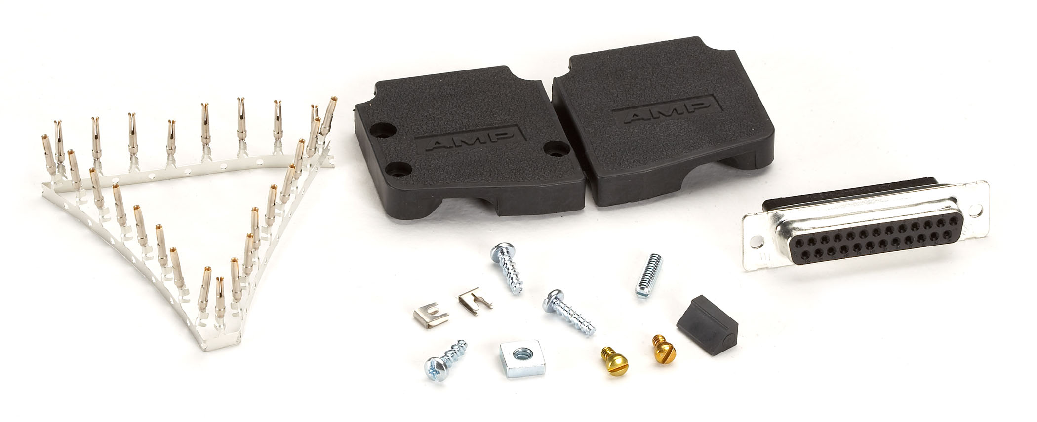 DB25 Female Connector Assembly Kit | Black Box