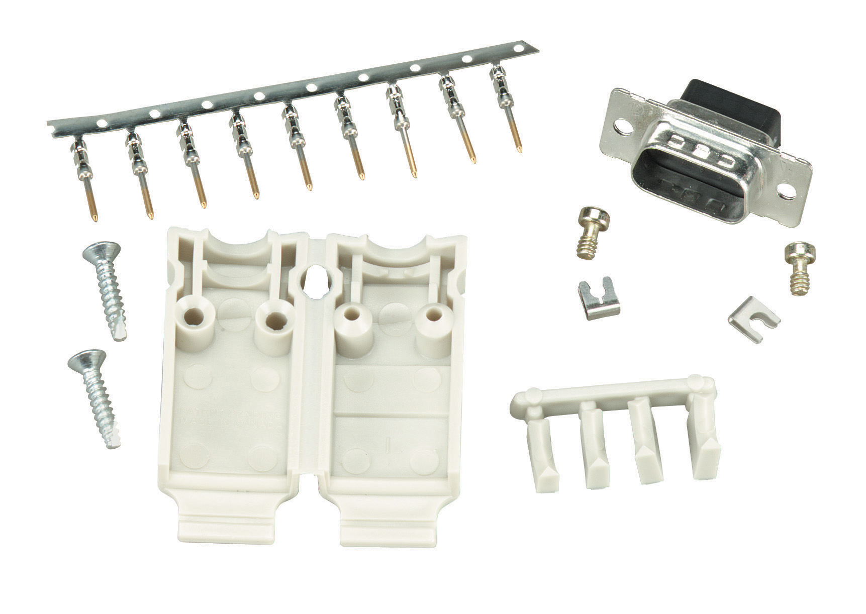 Db male connector assembly kit black box