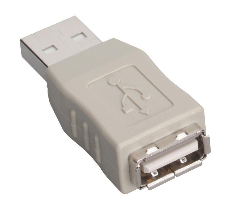 Gender Changer USB Type A Male/Type A Female | Black Box