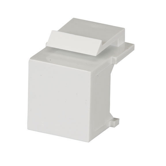 GigaStation2 Blank Snap Fitting, White, 10-Pack