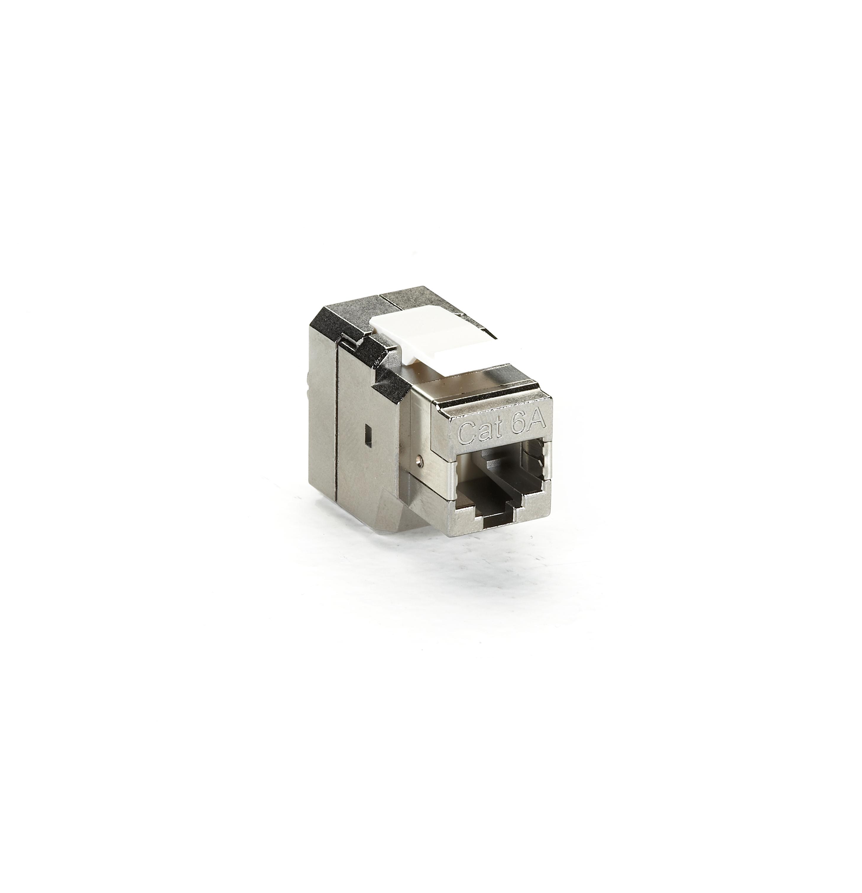 cat6a shielded jack t568b wiring 4 pair black box fmt700