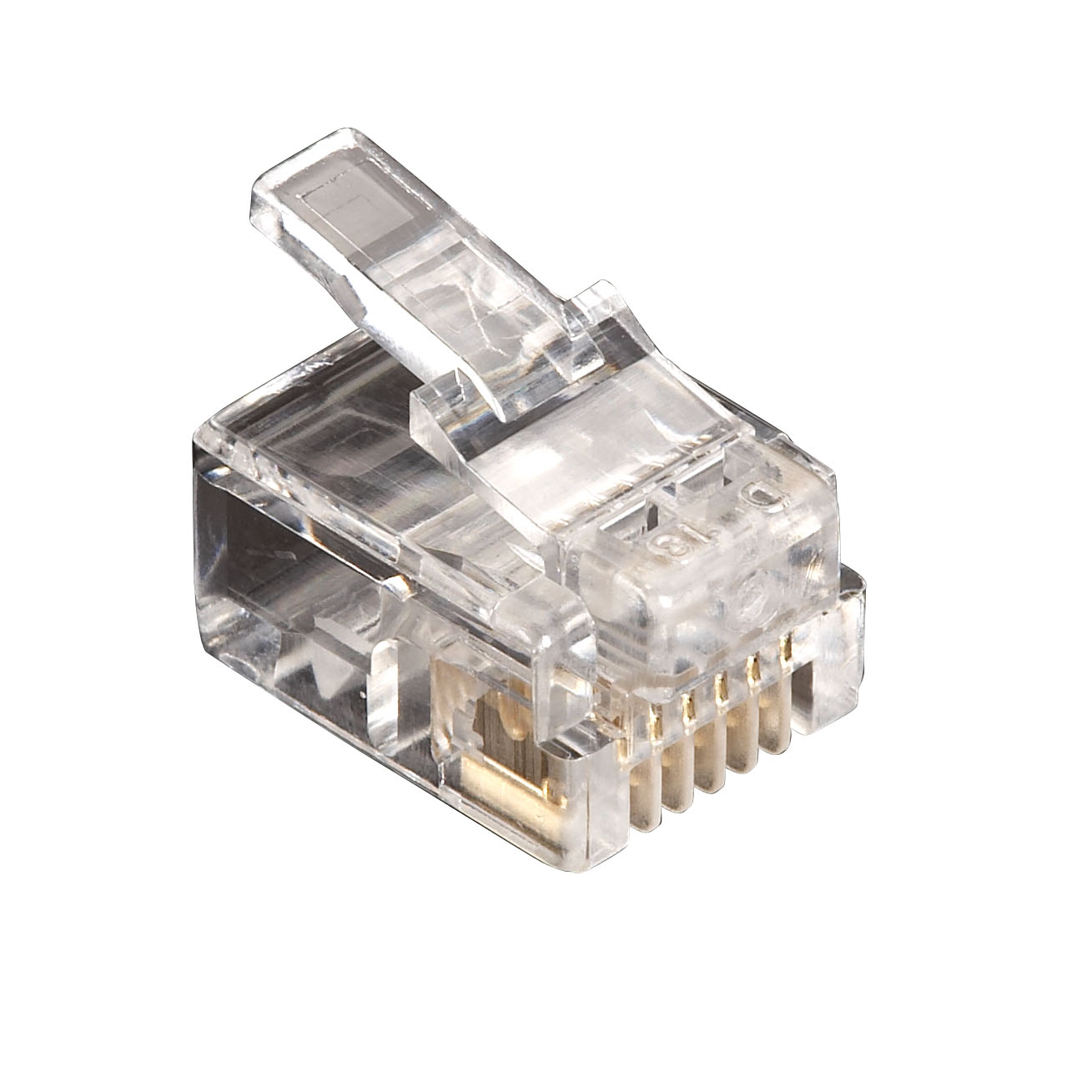 50-Pack RJ11 Unshielded Modular Plug 6-Wire | Black Box