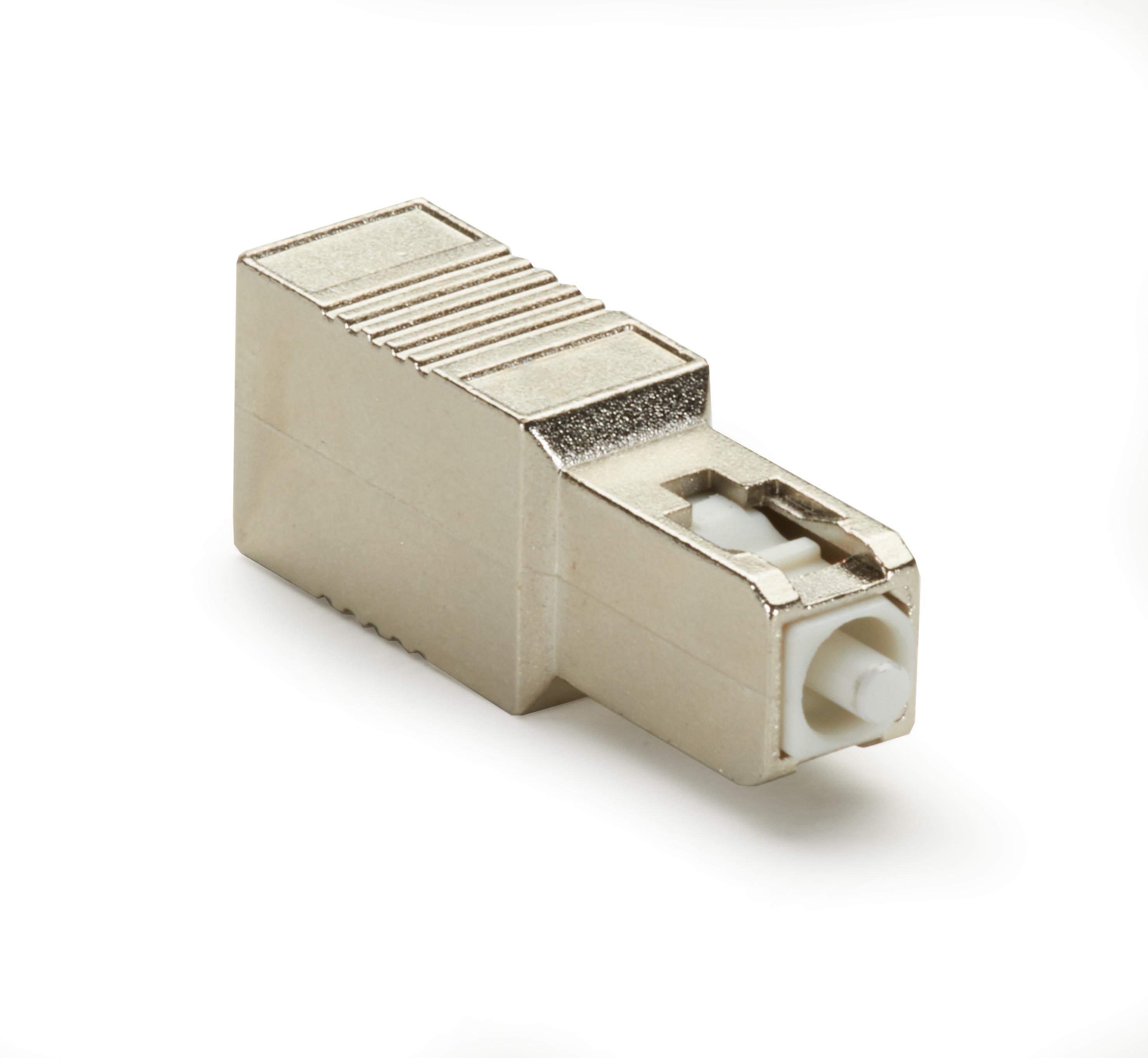 Fiber Optic In-Line Attenuator, Single-Mode, Male/Female, SC, UPC, 20 dB