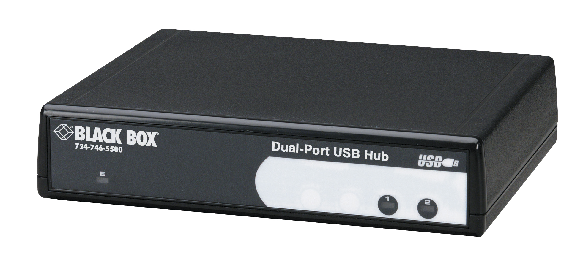 2 Port Usb To Rs232 Rs422 485 Converter Db9 Black Box Power A Distant Hub Using Only The Cable 4 Ic1020a