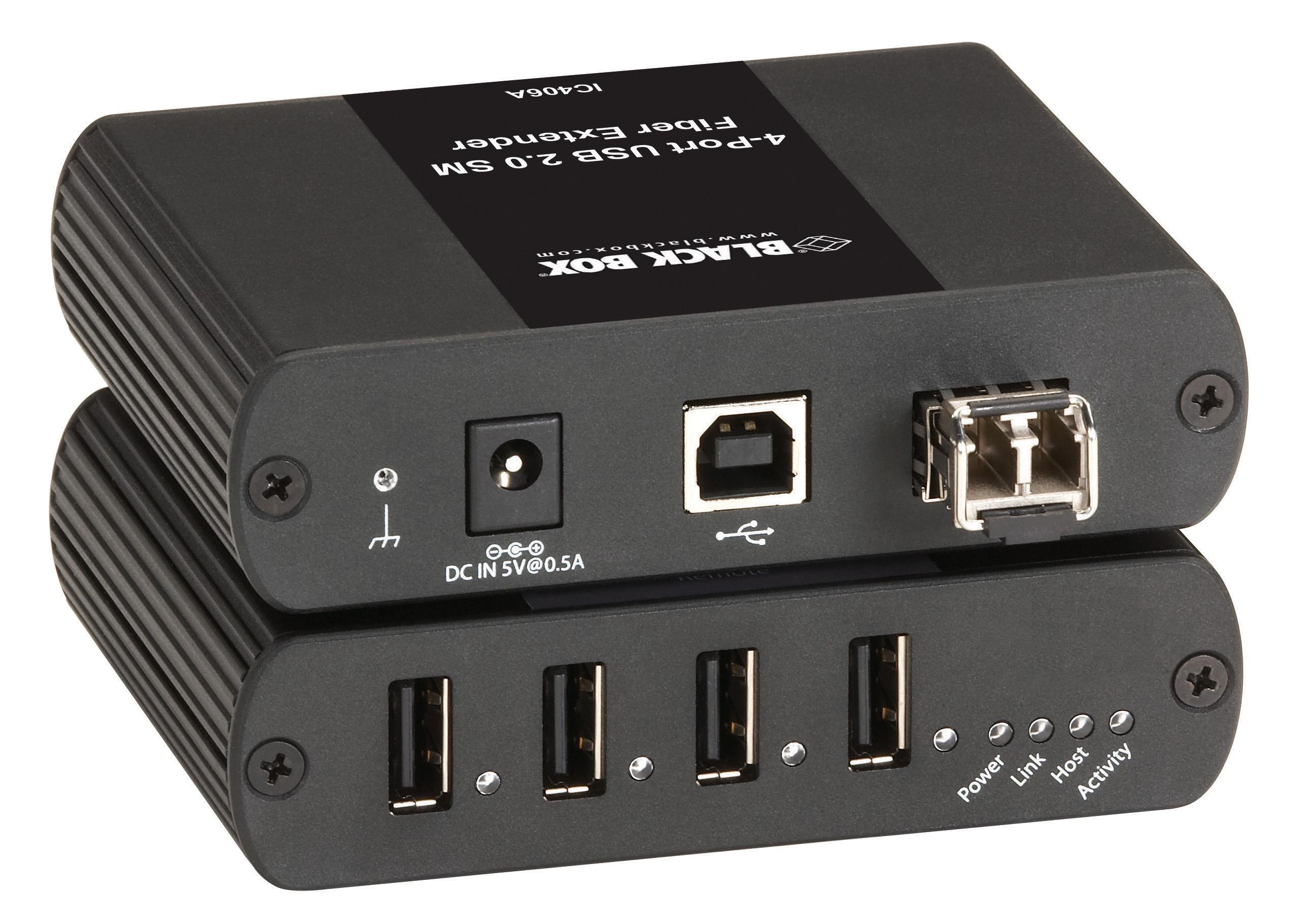USB 2.0 EXTENDER 4 PORT SM