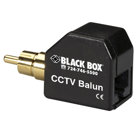 CCTV Balun with RCA Connector