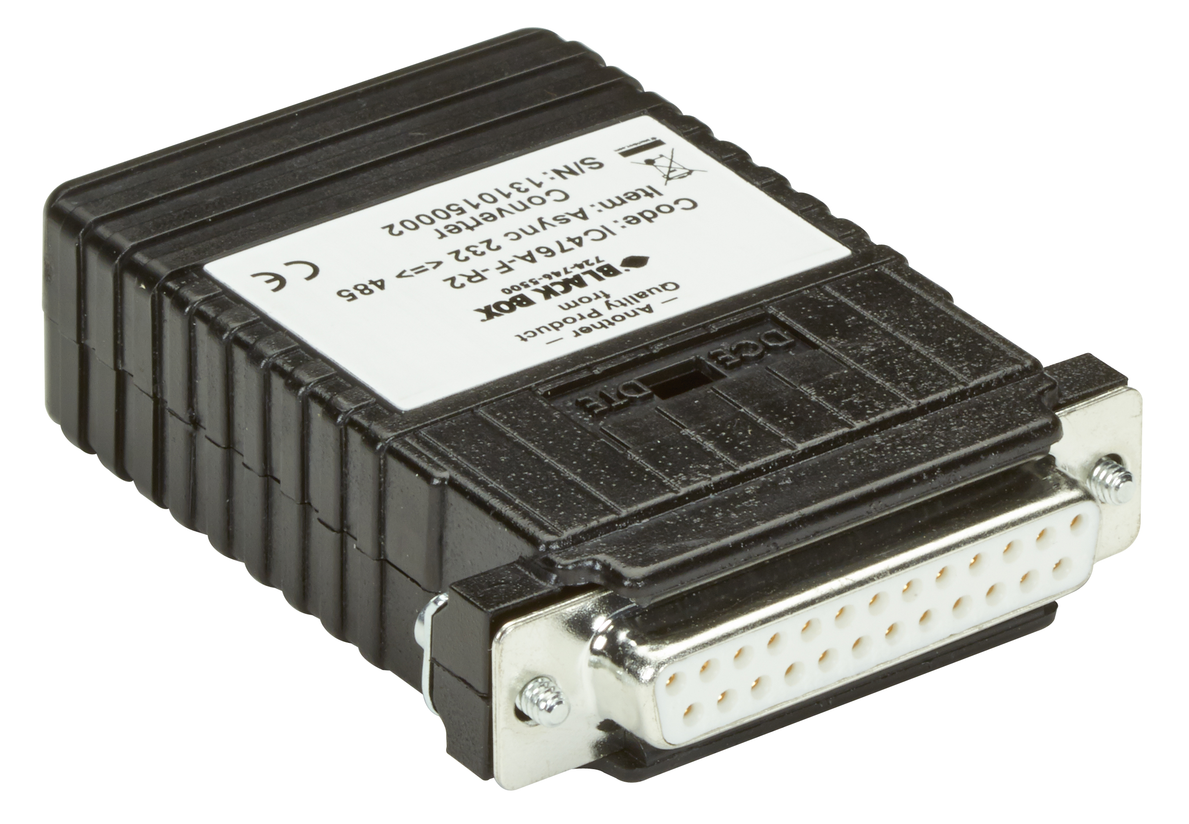 Async RS-232 to RS-485 Interface Converter