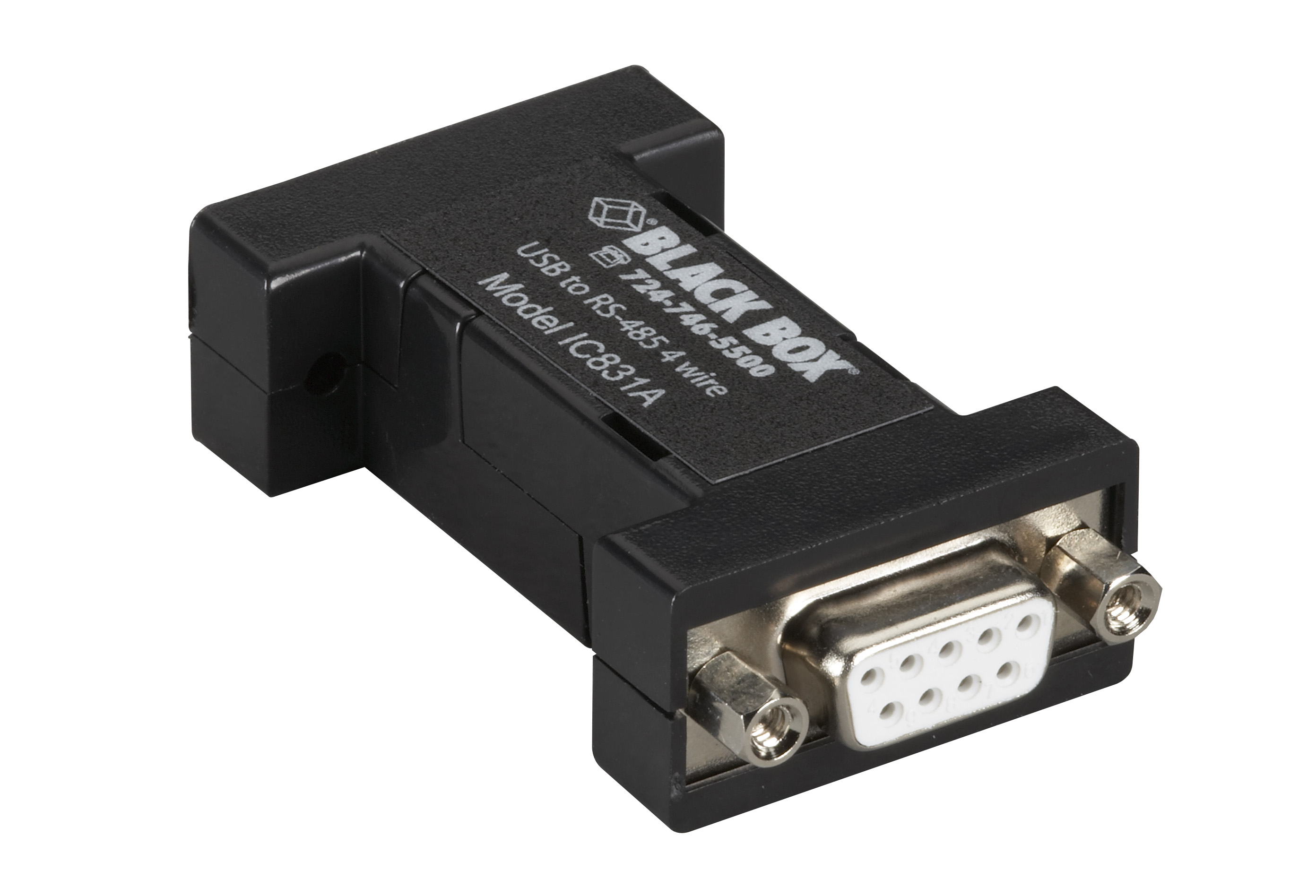 usb 2 0 to rs485 4 wire converter db9 1 port black box rh blackbox com