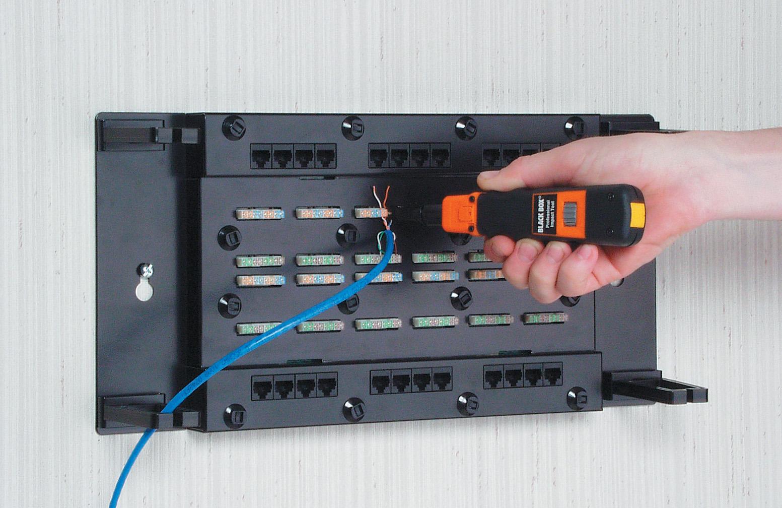 Attic Cat 5e Wiring Diagrams Cat5e Wallmount Patch Panel With Cover 24 Port Black Box Diagram Pdf