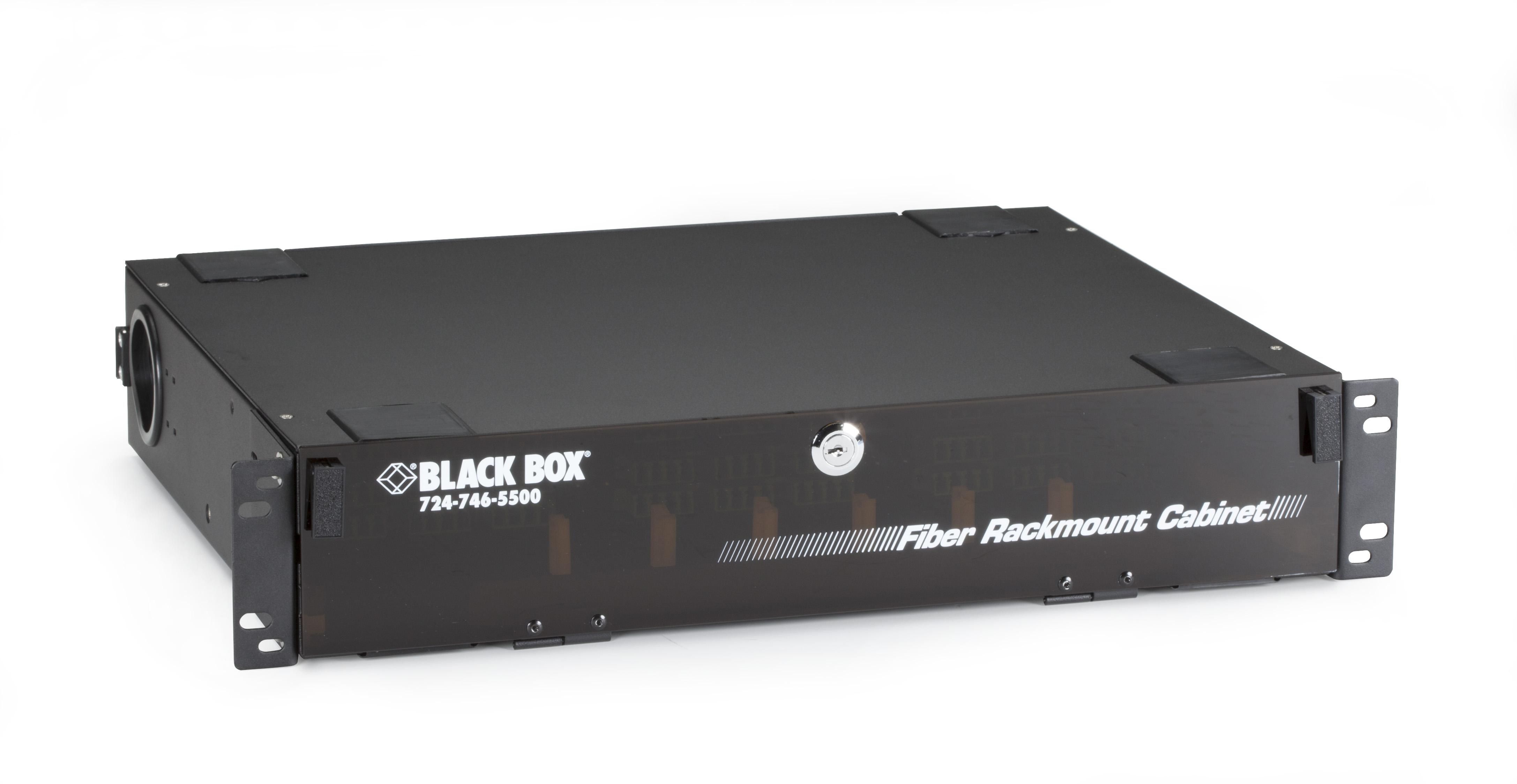 Rackmount Fiber Enclosure - 2U, 6-Panel
