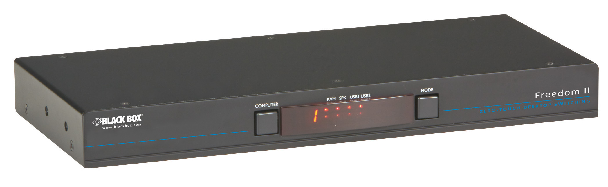 Freedom Ii Kvm Switch I Black Box Network Services Bouncless With Ne555 Additional Product Image