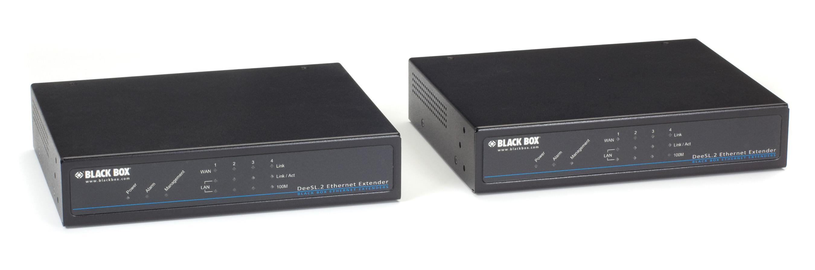 Ethernet Extender Kit 4 Port 8 Wire Managed