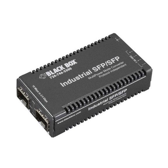 Media Converter Gigabit Ethernet SFP   Black Box