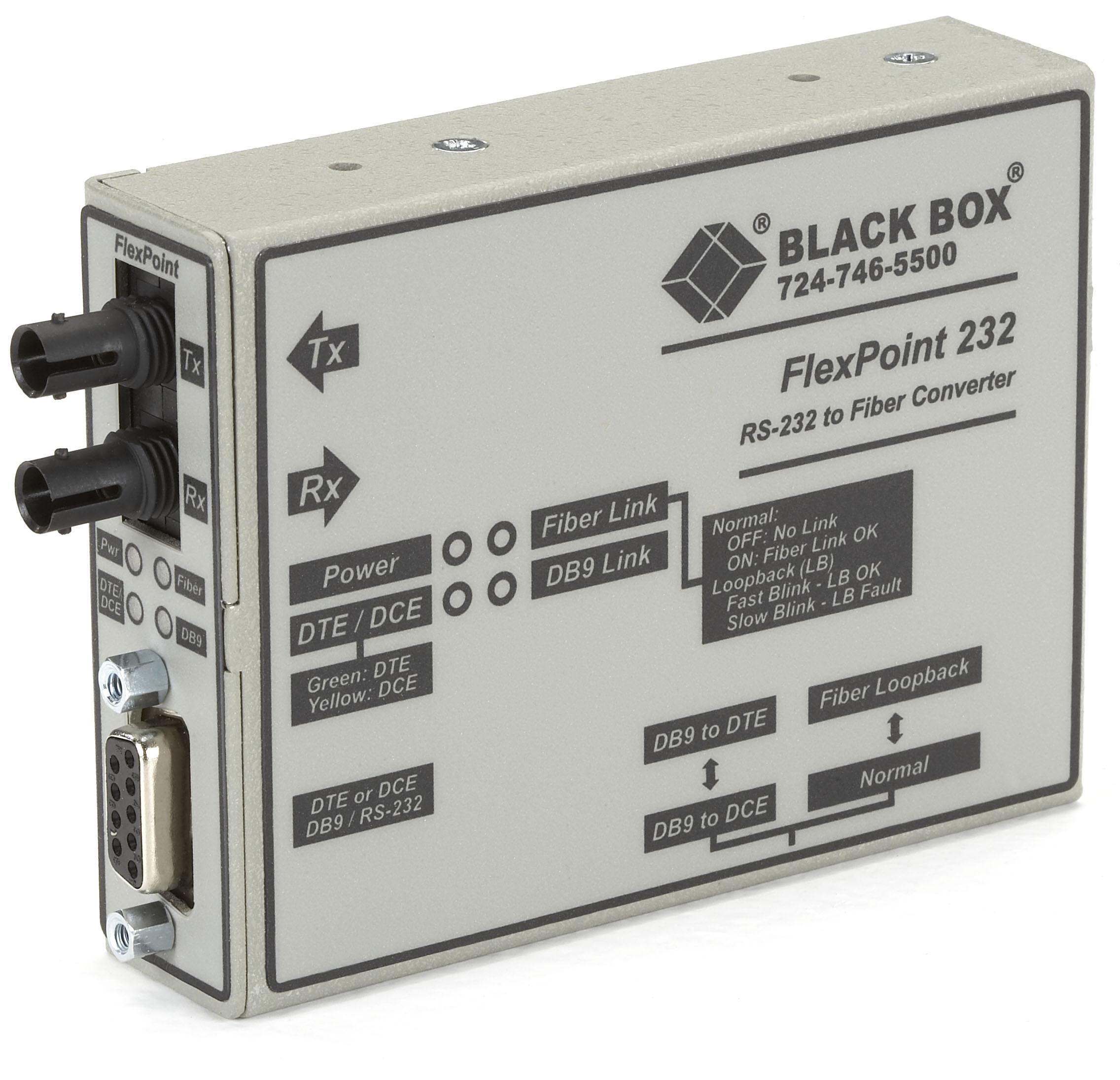 MFF DB9, 3 Black Box Data Tap DB9 Connectors