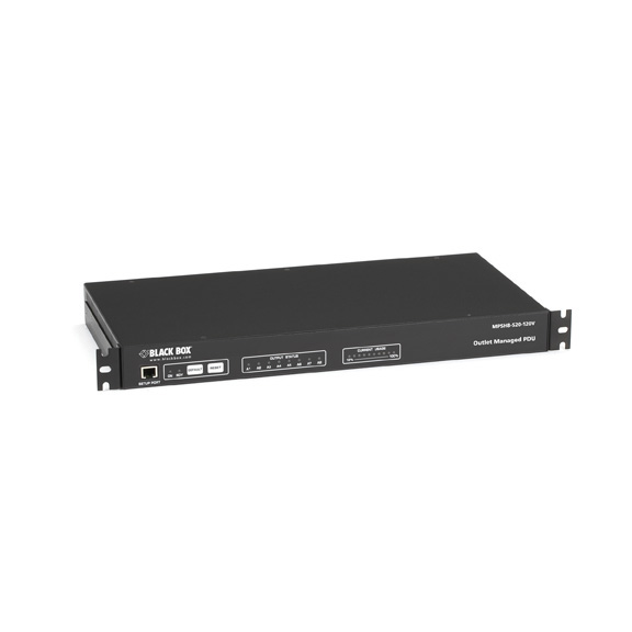 1U Horizontal Rackmount Remote Power Manager, Dual-Circuit