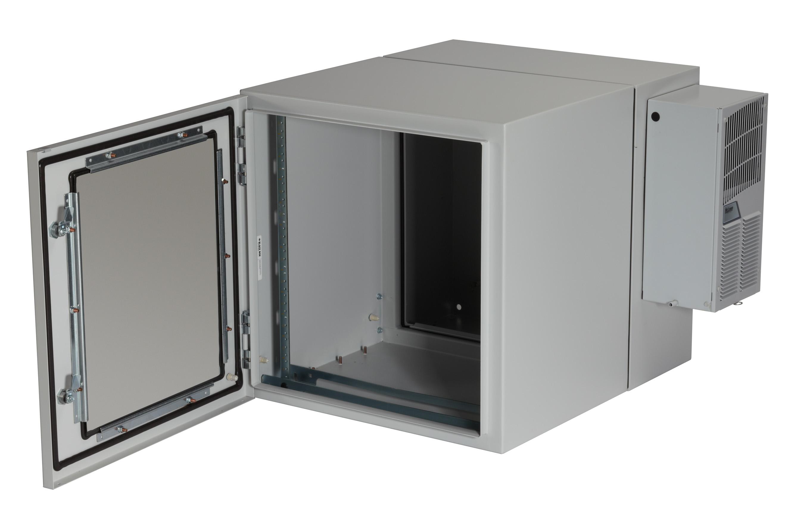 NEMA 12 Wallmount Cabinet 800-BTU AC - 12U | Black Box