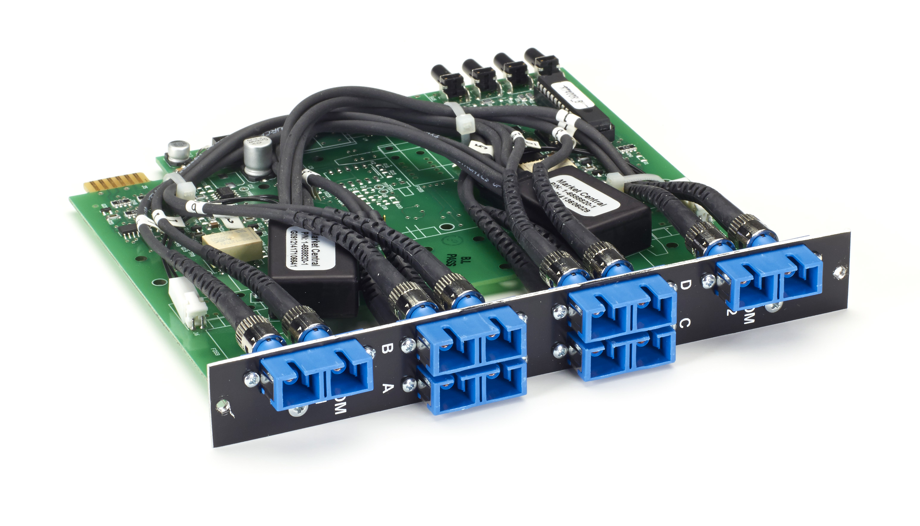 Pro Switching System Multi Switch Card - Fiber Multimode, 3-to-1, Latching