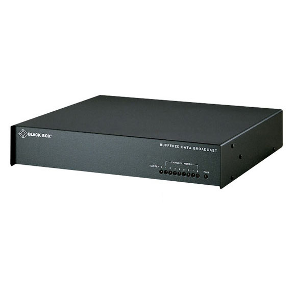 4 Port RS232 DB25 Buffered Data Broadcast Device