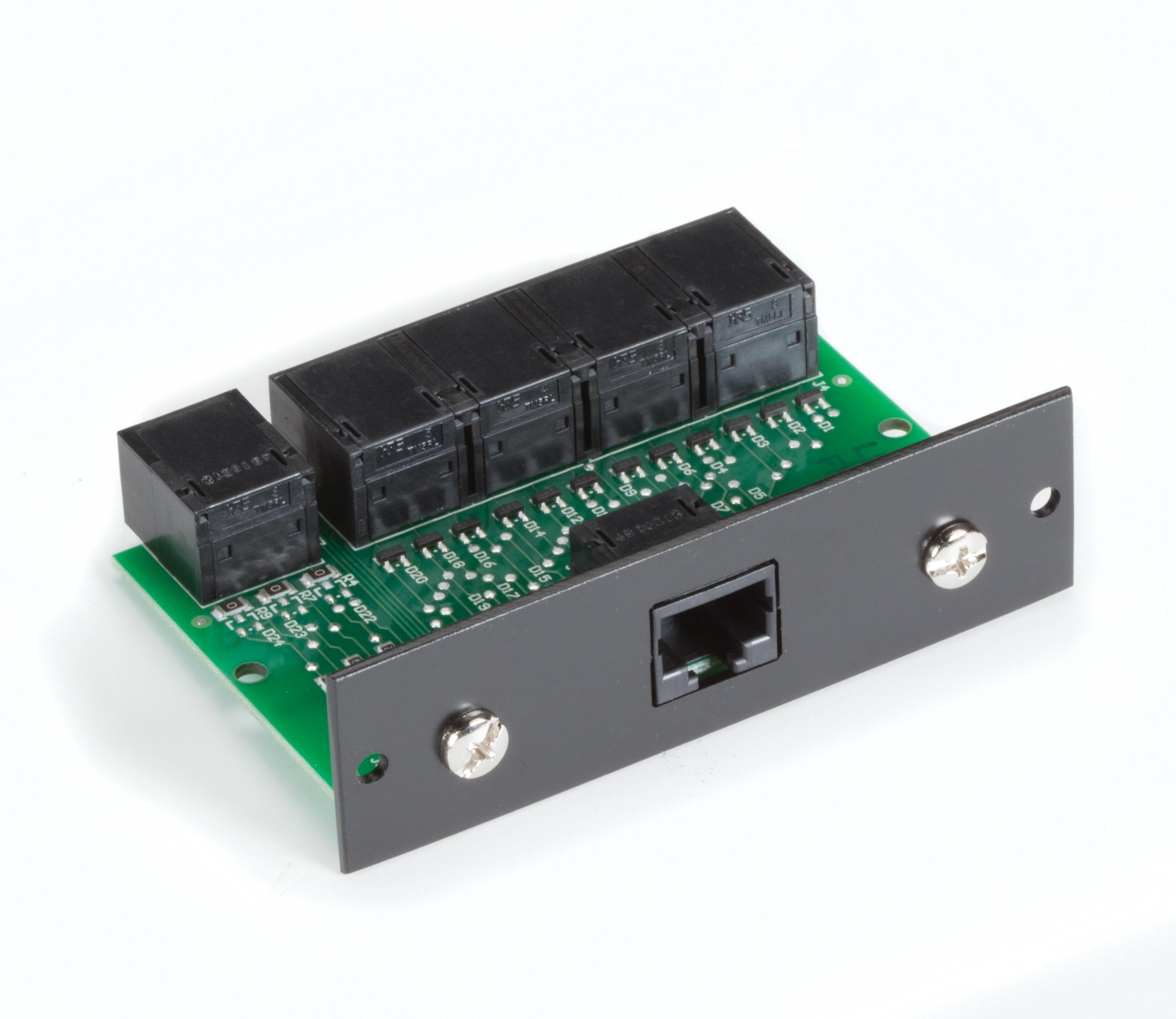 7 Port RS232 RJ45 Passive Splitter Rackmount Card