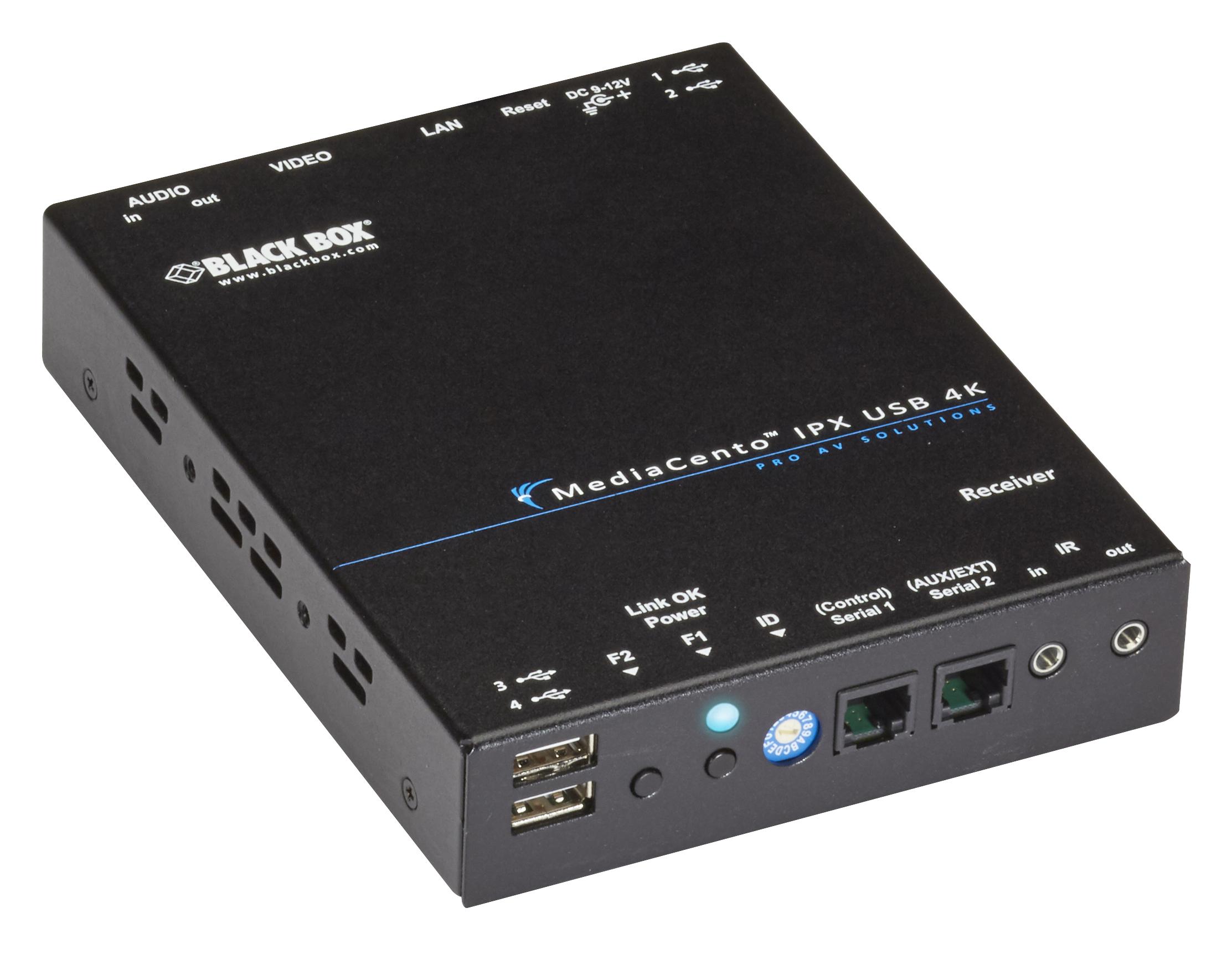 MediaCento IPX 4K Receiver - HDMI, IP, USB