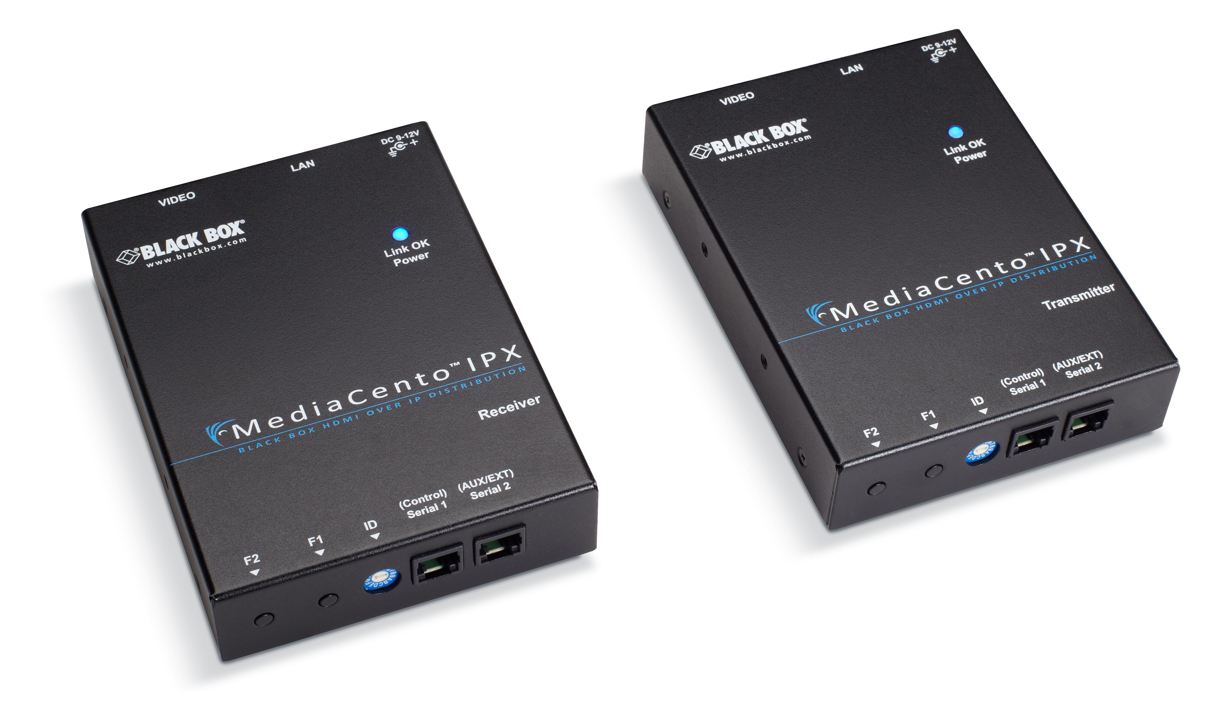 MediaCento IPX PoE Multicast Kit - 1 x 4