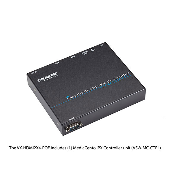 MediaCento IPX Controller Kit - 2 x 4
