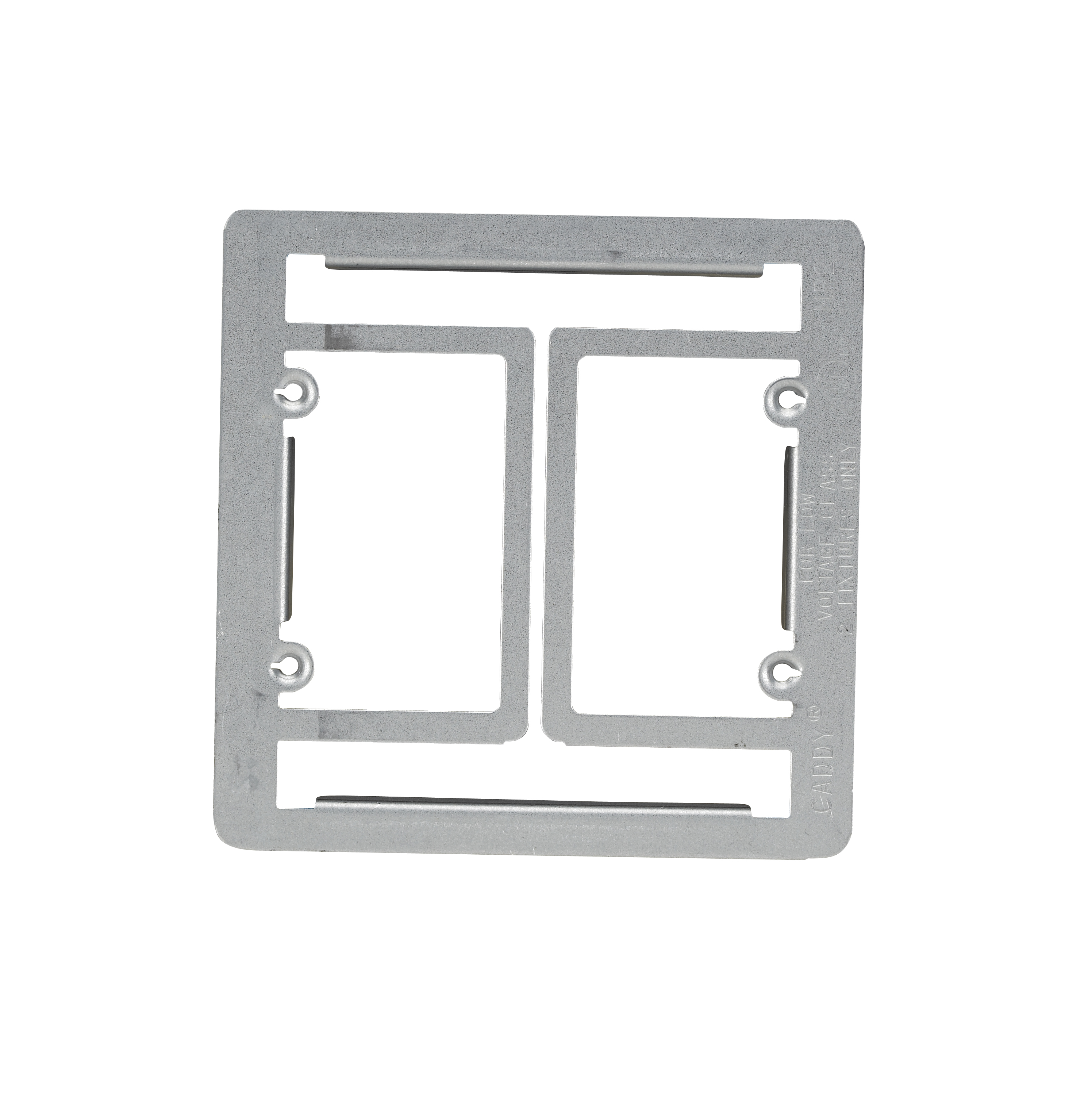 Flush-Mount Adapter, Double-Gang